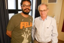 With Ken Loach